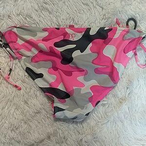 Like new camo pink OP string bikini bottoms
